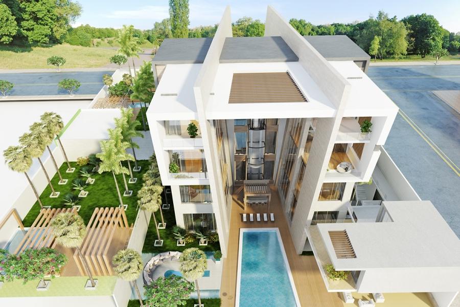 Residential Building (Modern)